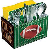 Football Cutlery Condiment Tray - 19cm