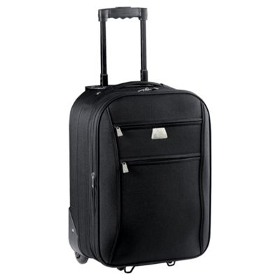 buy tesco relic 2 wheel suitcase black small from our. Black Bedroom Furniture Sets. Home Design Ideas