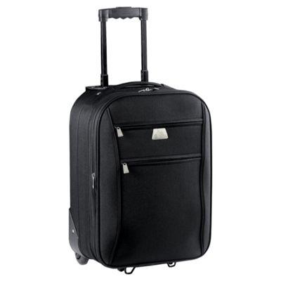 Tesco Relic 2-Wheel Suitcase, Black Small