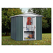 Yardmaster Metal Apex Shed, 6x4ft