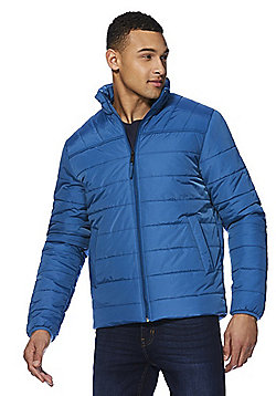 F&F Shower Resistant Puffer Jacket - Blue