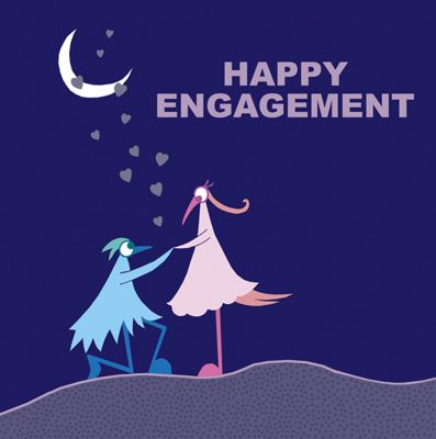 Holy Mackerel Greetings Card- Happy Engagement proposal card