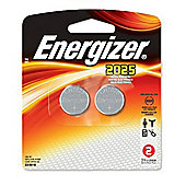 Energizer 2 Pack CR-2025 Batteries