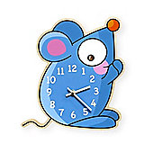 Barnabou Serie Golo Childs Kids Wall Clock Horloge Souris Mouse HOR002