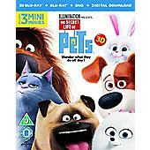 The Secret Life Of Pets 3D Blu-ray