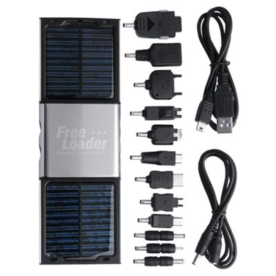 FreeLoader Silver Solar Battery Charger