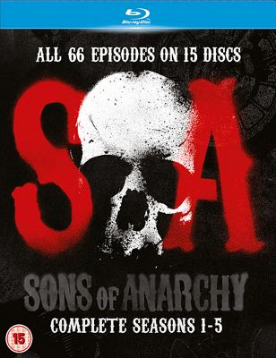 Sons Of Anarchy Seasons 1-5 - (Blu-ray Boxset)