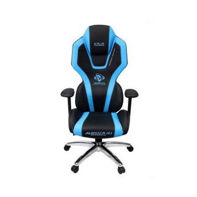 E-Blue Auroza PC Blue Gaming Chair with full Support for Back