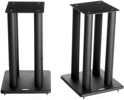 Atacama Speaker Stands in Black - Height 500mm