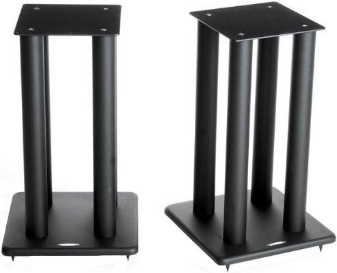 Atacama Speaker Stands in Black - Height 500mm