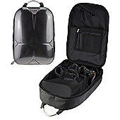 Navitech Rugged Grey Backpack Case For The The Oculus Rift an Oculus Touch Controller