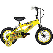 "Bumper Digger 14"" Pavement Bike Yellow/Black"