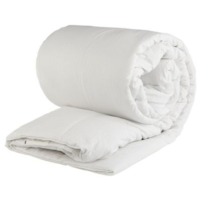 Tesco Standard Cotton Cover Double Duvet 13.5 Tog