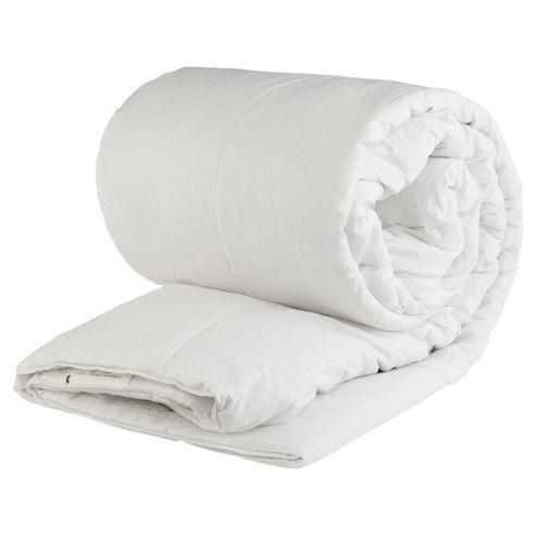 Tesco Standard Cotton Cover Double Duvet 13.5 Tog