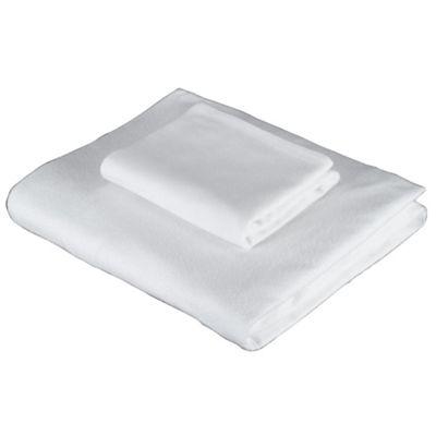 Tesco Brushed Cotton Pillowcase, White