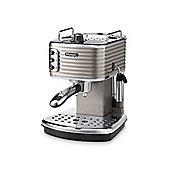 De Longhi ECZ351.BG Scultura Espresso Coffee Machine - Champagne