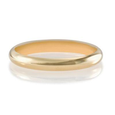 9ct Gold 2mm Wedding Band, J