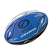Optimum Inferno Rugby League Union Ball - Blue - 5