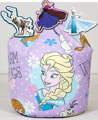 Disney Frozen Crystal Beanbag and Foam Wall Decor Set