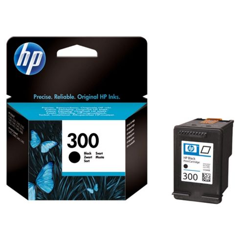 HP 300 Black Printer Ink Cartridge 4ml (CC640EE)