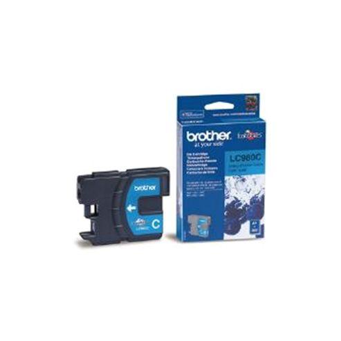 Brother LC980C printer ink cartridge - Cyan