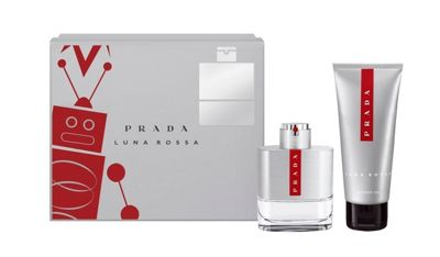 Prada Luna Rossa Men Eau de Toilette 100ml Spray and 100ml Shower Gel Gift Set