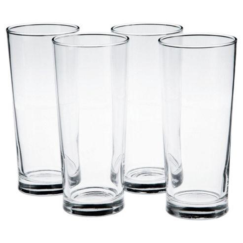 Set of 4 Tall Pint Glasses