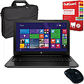 """HP 250 G5 - W4N38EA#ABU - 15.6"""" Laptop With BullGuard Internet Security, Mouse & Case"""