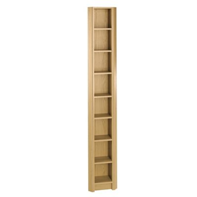 Fraser Cd / Dvd Storage, Oak-Effect