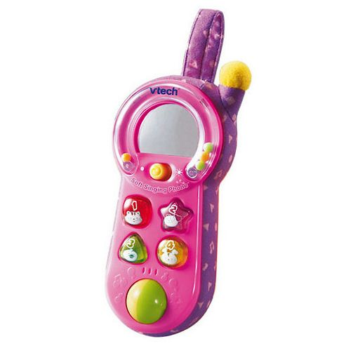 VTech Baby Soft Singing Phone Pink