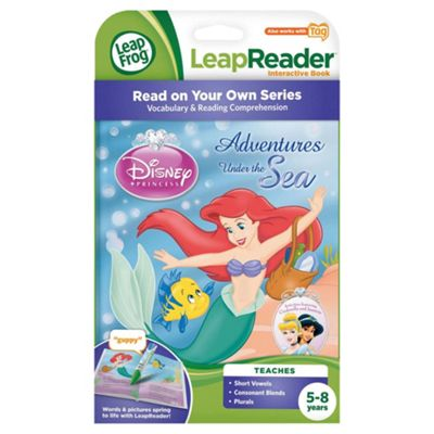 LeapFrog LeapReader™ Activity Storybook Disney Princess: Adventures Under the Sea