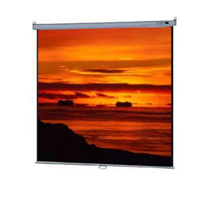 Da-Lite Model B Manual Wall and Ceiling Screen Square Format Matte White 70 x 70 inch