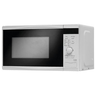 Tesco Solo Microwave MT08 Touch, 17L - Black & White