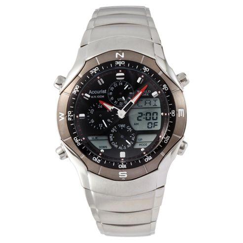 Accurist World Timer Watch
