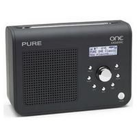 Pure One Classic Portable DAB/FM Radio - Black