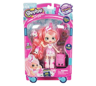 Shopkins Shoppies World Vacation Pinkie Cola