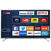 Sharp 49 Inch LC-49CFG6021K Smart Full HD LED TV with Freeview HD
