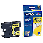 Brother LC980Y printer ink cartridge - Yellow