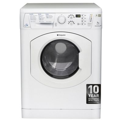 Hotpoint Aquarius Washer Dryer, WDF 740 P (UK), 7KG load, with 1400 rpm - White