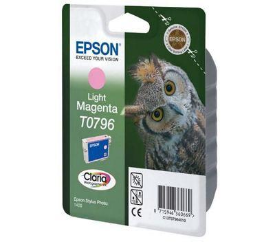 Epson T0796 Ink Cartridge for Stylus Photo 1400 Printer - Magenta