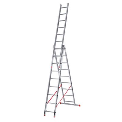 Abru Professional 23m Triple Combination Ladder