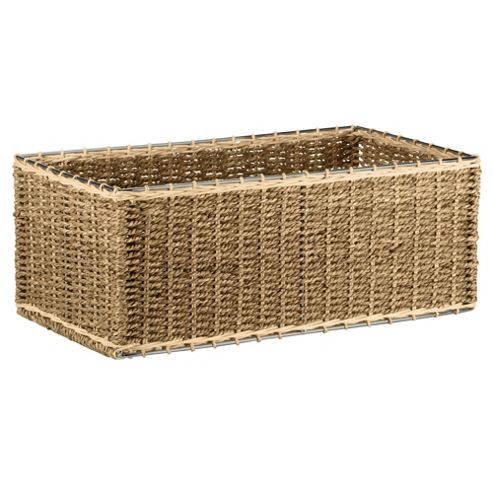 Tesco Seagrass DVD Storage Box