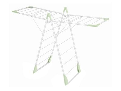 Addis Pale Green X-Wing Indoor Clothes Airer