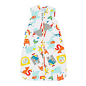 Grobag Travel Baby Sleeping Bag - E is for Elephant 2.5 tog (6-18 months)