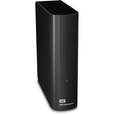 WD Elements Desktop (3TB) 3.5 inch External Hard Drive USB 3.0 (Black)