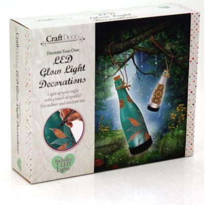 Make Your Own Light Up LED Bottle Decorations Craft Kit