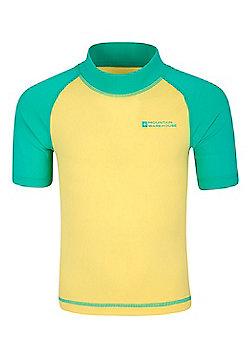 Rash Kids Swim Summer Beach High UV Protection Quick Drying Vests - Yellow