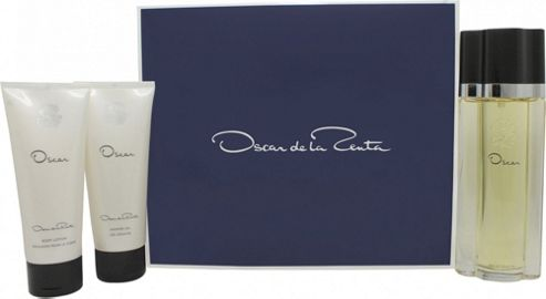 Oscar De La Renta Oscar Gift Set 100ml EDT + 100ml Body Lotion + 100ml Shower Gel For Women