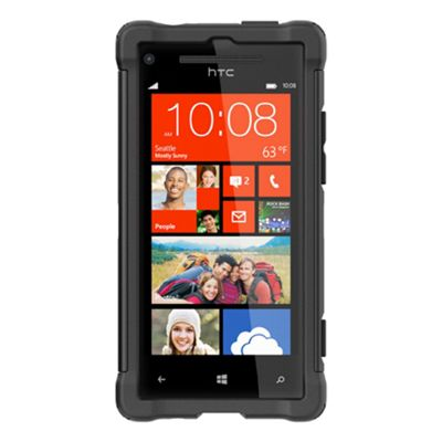 Ballistic Shell Gel Maxx Case for HTC 8X - Black