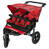 Out n About Nipper Double Pushchair V4, Carnival Red